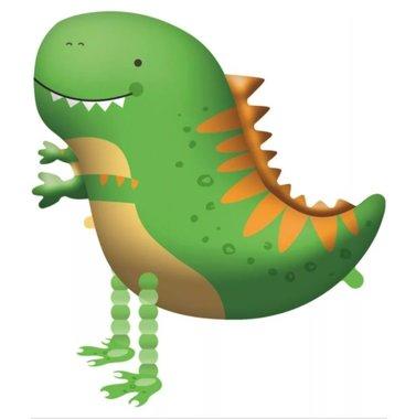 Dino Walking ballon (65 x 75 cm)