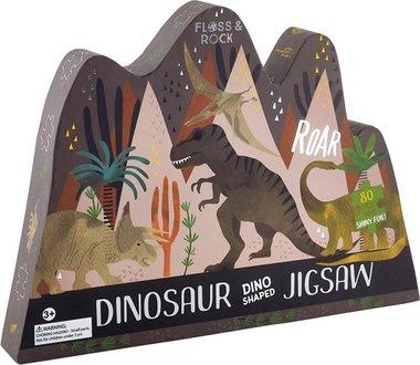 80 stukjes Brontosaurus puzzel - Floss & Rock