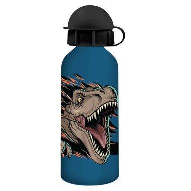 Jurassic World Drinkfles 0,5 L -blauw/zwart