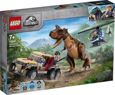 LEGO: Jurassic World Achtervolging van Dinosaurus Carnotaurus - 76941