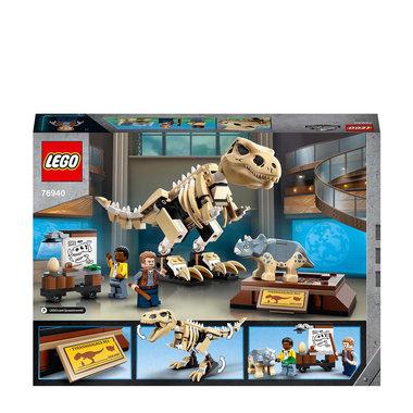 LEGO Jurassic World Tentoonstelling Dinosaurusfossiel T-Rex 76940