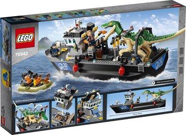 LEGO Jurassic World Bootontsnapping van Dinosaurus Baryonyx - 76942