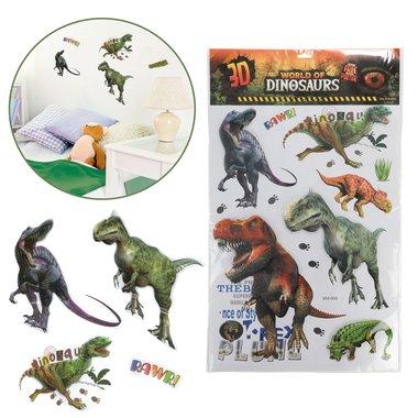 World of Dinosaurs - 3D muurstickers