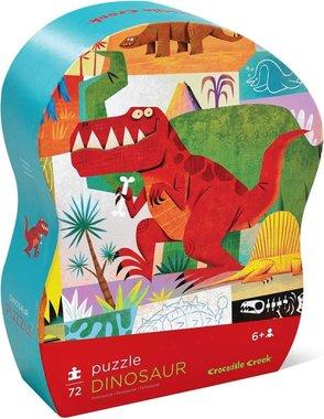 72 stukjes T-rex puzzel - Crocodile Creek