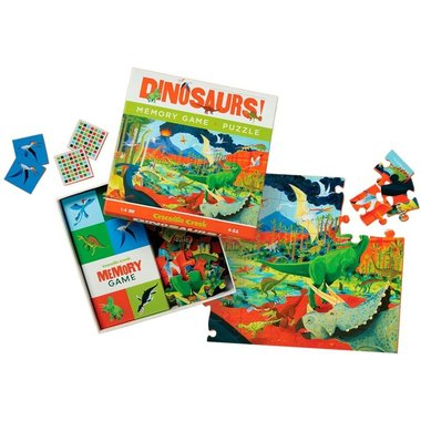 Dinosaurus puzzel & Memory spel - Crocodile Creek