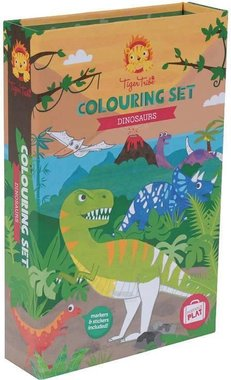 Dinosaurus Kleurset - Tiger Tribe
