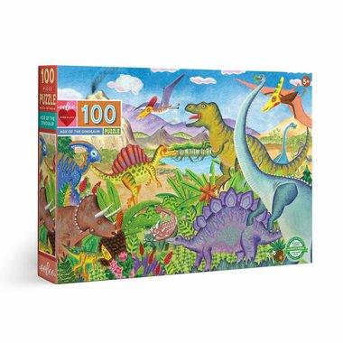 100 stukjes Dinosaurus Puzzel - Age of the Dinosaur
