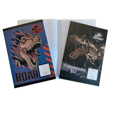 Dinosaurus schrift (2x) - (17 x 24 cm)