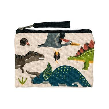 Dinosaurus portemonnee - met rits