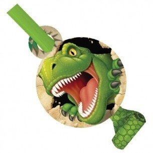 Dinosaurus roltongen (8x) (T-rex Feest)