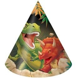 Hoedjes (8x) (Tyrannosaurus Feest)