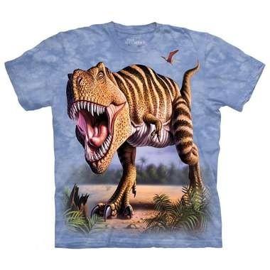 T-shirt Striped Rex (blauw)