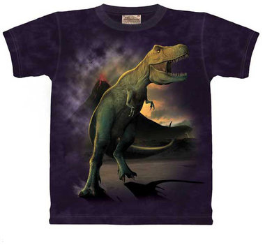 T- rex shirt (paars) (op=op)