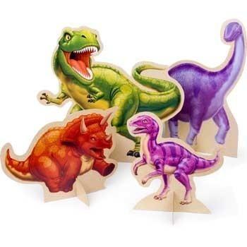 Tafelversiering (T-rex Feest)