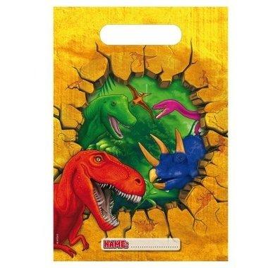 Feestzakjes (6x) (Dinosaur party)