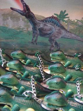 T-rex sleutelhanger met geluid