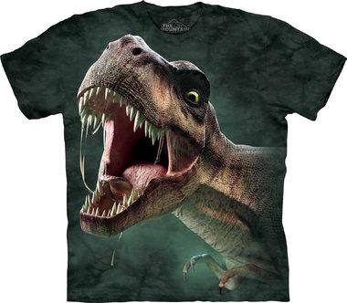 T-shirt T-rex Roar (groen)