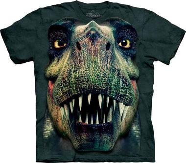 T-shirt Rex Portrait (groen)