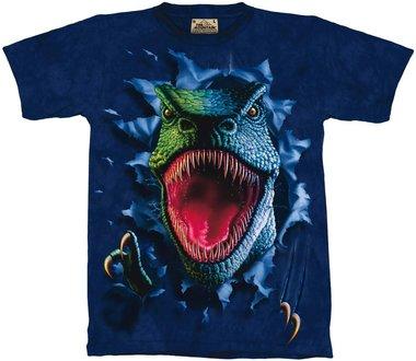 T-shirt Rippin Rex shirt (blauw)