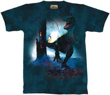T-shirt REX (groen/blauw)