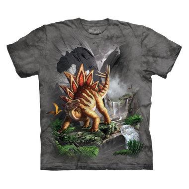 T-shirt Against the Wall (grijs) (op=op)