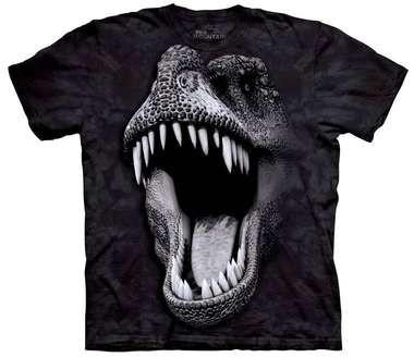 T-shirt Big Face Glow Rex
