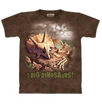 T-shirt I dig dino