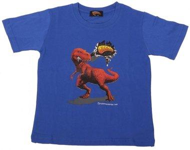 z-Dinosoles T-rex shirt (blauw)