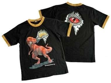 Zwart Dinosoles T-rex shirt