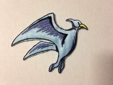 Embleem dinosaurus (pternadon)