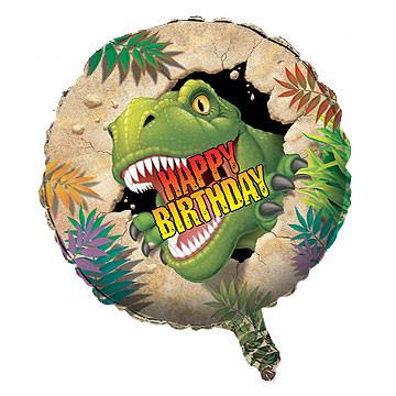 Ballon Tyrannosaurus Helium/Folie