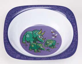 Dinosaurus toetjesbord (paars/lila)