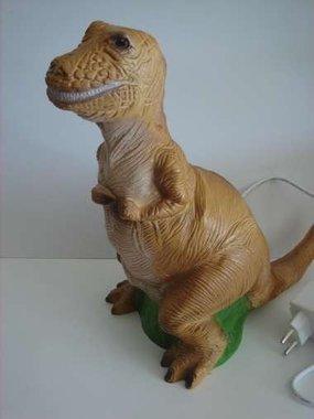 T-rex lamp (bruin)