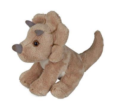 Triceratops knuffel (15x13x7cm)