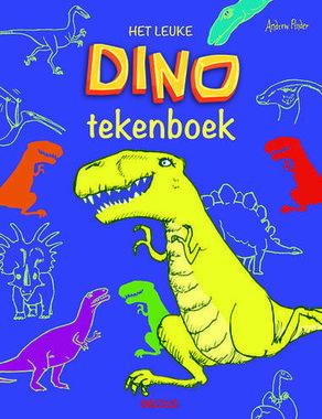 het leuke DINO tekenboek (klein)