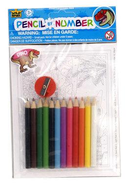 Kleurkaarten met potloden (klein)