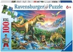 100 stukjes XXL Bij de dino's Ravensburger