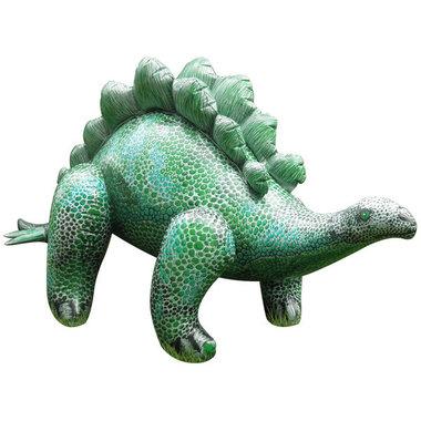 Opblaasbare Stegosaurus (L 117 x H 50 cm)