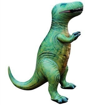 Opblaasbare Tyrannosaurus  (L 109 x H 94 cm)
