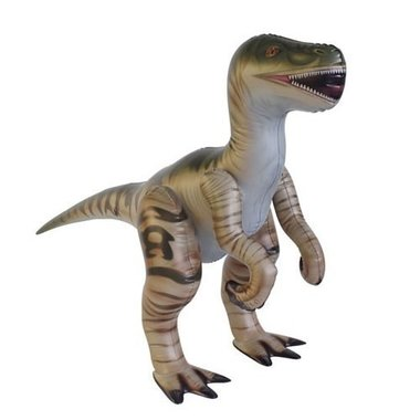 Opblaasbare Velociraptor (H 76 x L 130 cm)