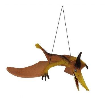 Vliegende pteranodon aan elastiek