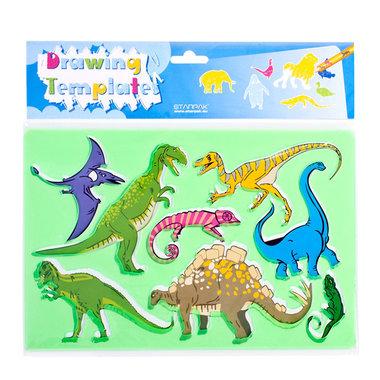 Dinosaurus sjablonen