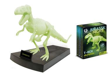 Bouwpakket T-rex  (glow)