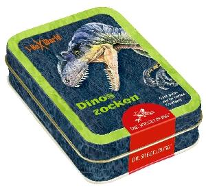 Kaartspel dinosaurussen (T-rex world)