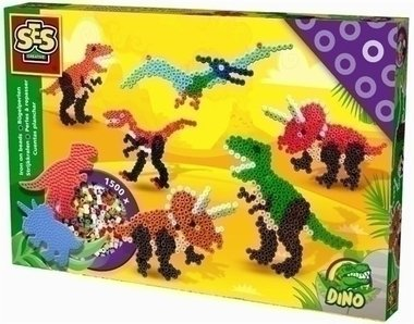 Dinosaurus strijkkralen (1500)