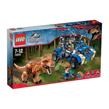 Lego Jurassic World T-Rex spoorzoeker