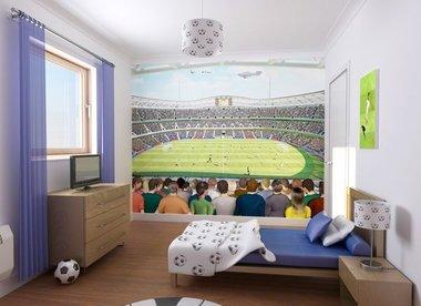 Voetbal XXL posterbehang Walltastic (243 x 304 cm)