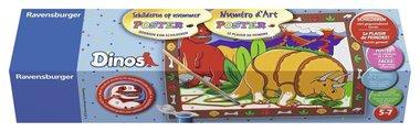 Dino's schilderen op nummer