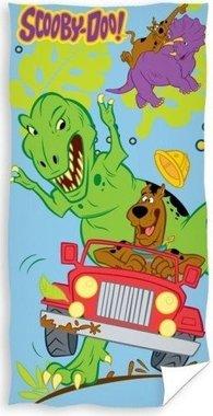 Badlaken Scooby-Doo bij de dino's