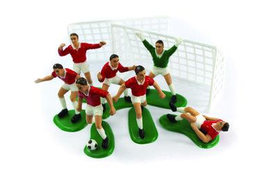 Rode voetballers (decoratie taart/cake)